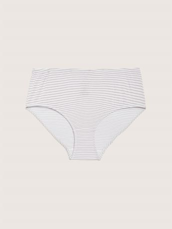 Cotton Striped Brief Panty - ti Voglio