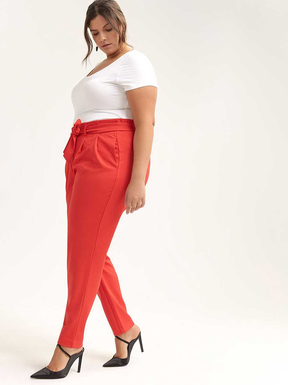 fb9c476197d Knit Pant with Self-Tie Sash - In Every Story
