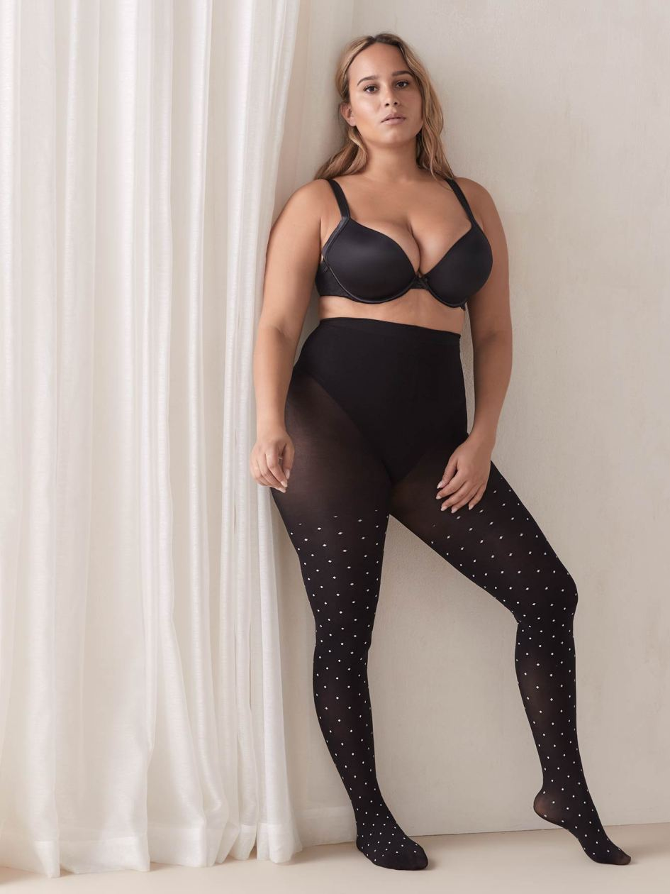 Opaque Polka Dots Tights - Mondor