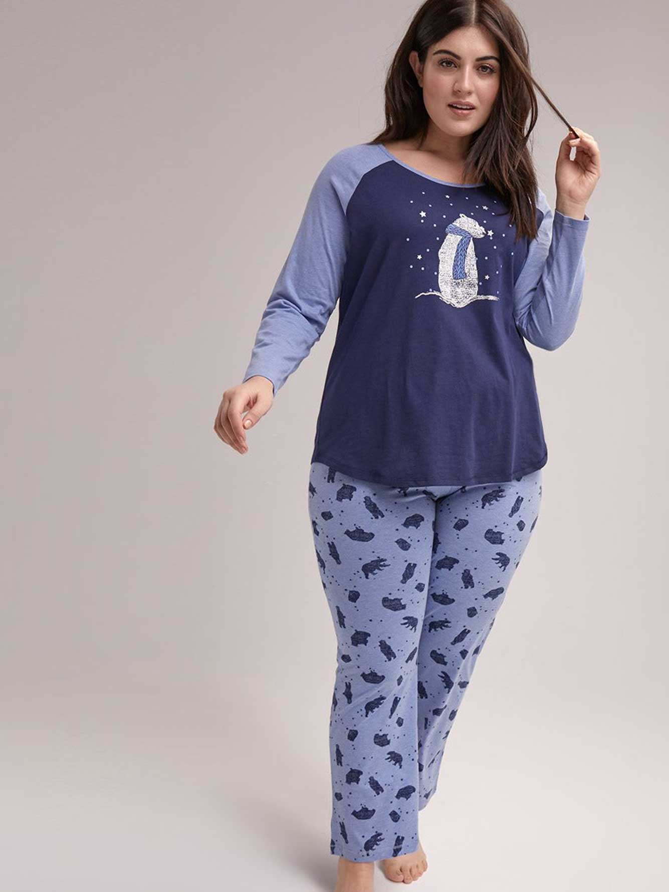 e63eb823be Printed Cotton Pyjama Set - ti Voglio
