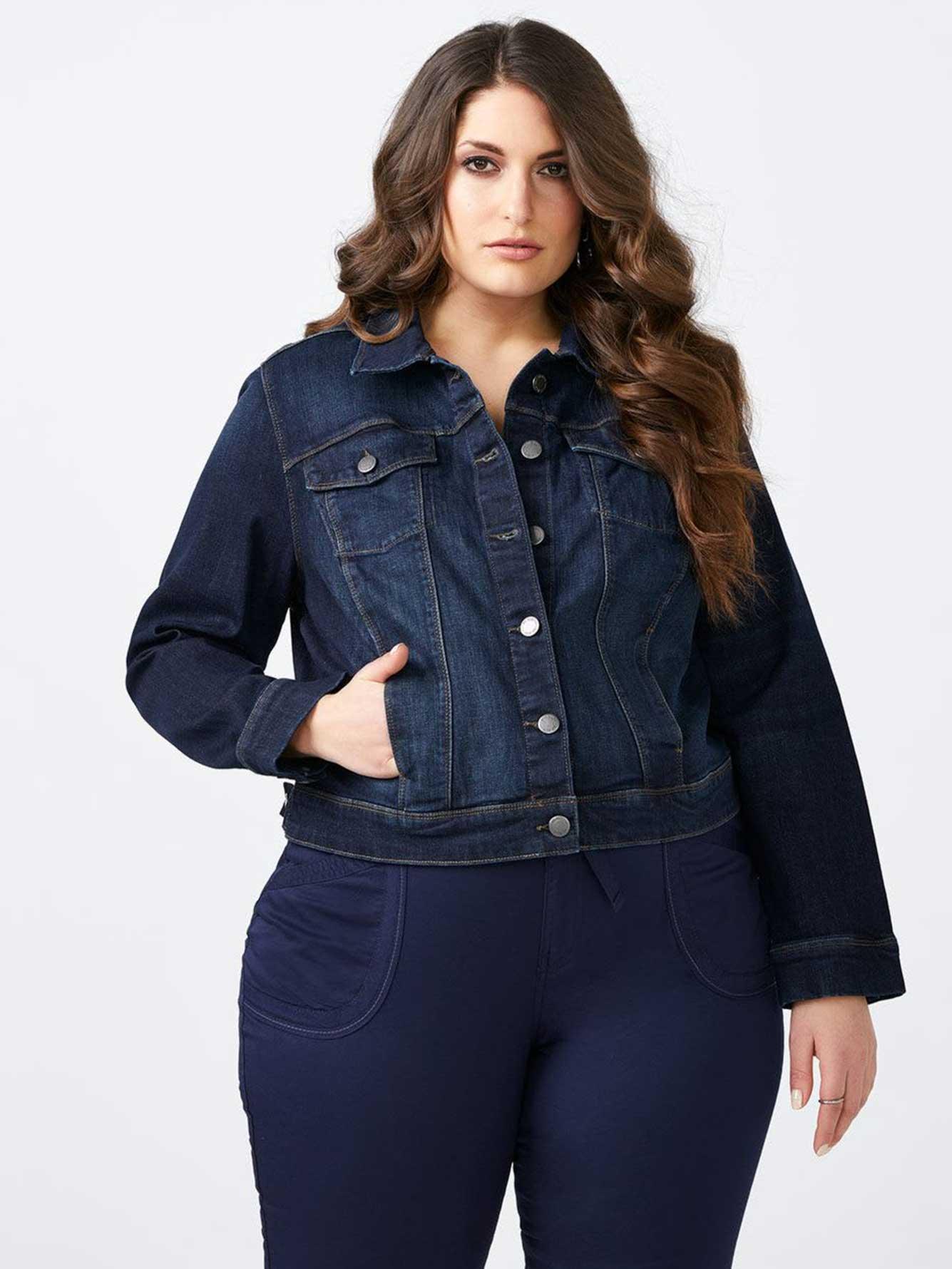 Long Sleeve Denim Jacket D C Jeans Penningtons