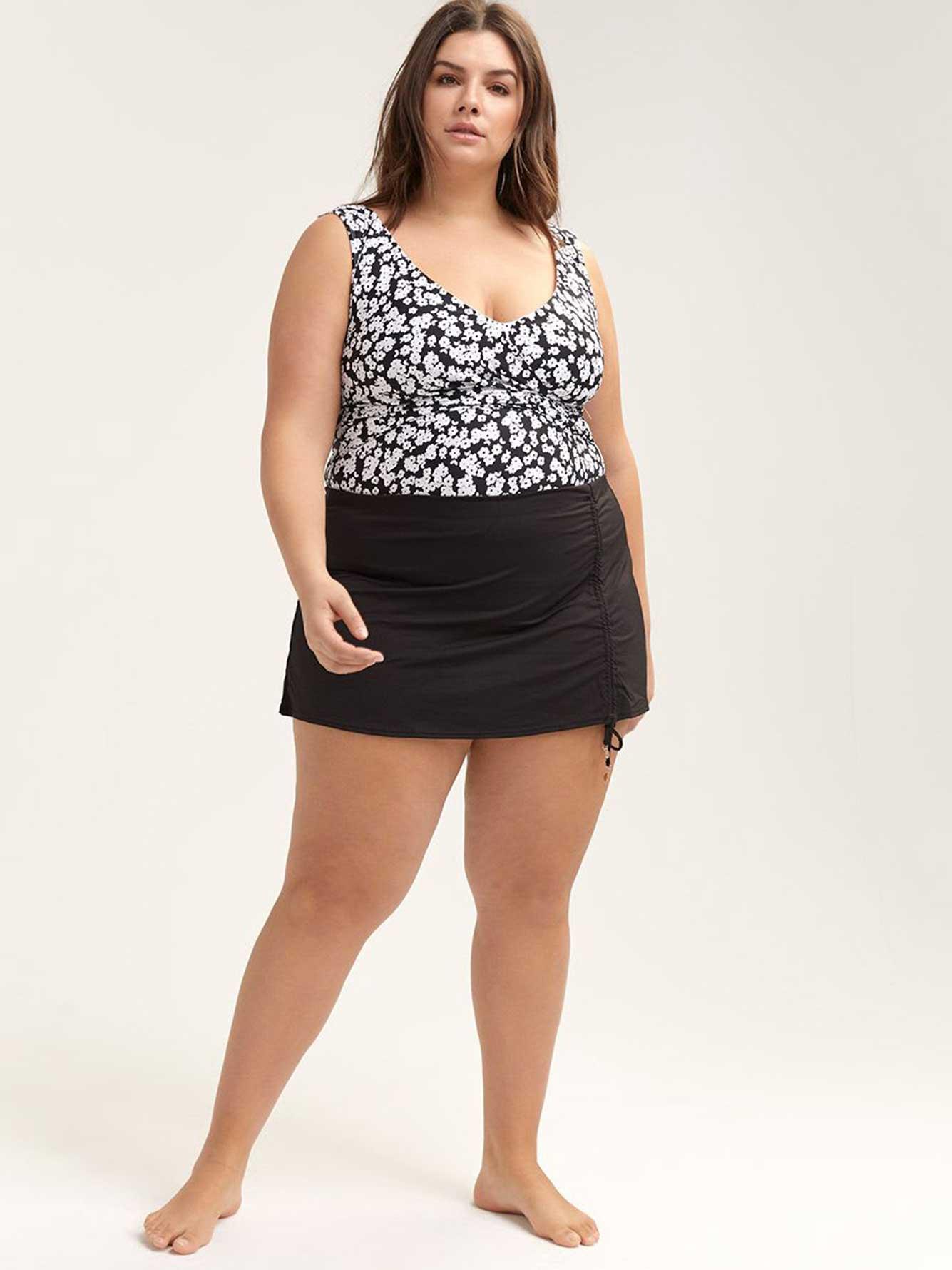 3dacdb26c1cfa Solid Swim Skirt with Cords - Anne Cole