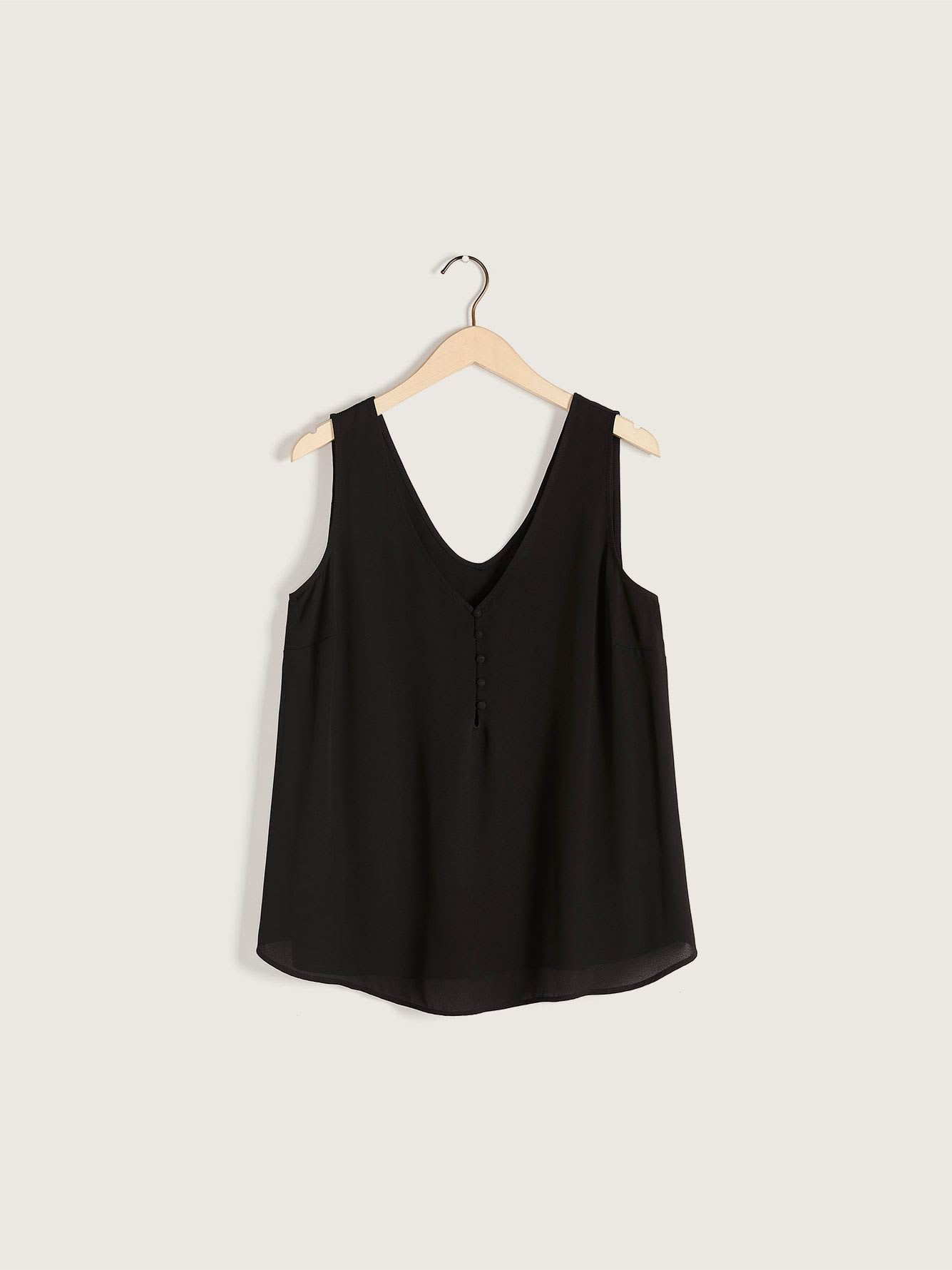 Button-Front Cami - Addition Elle