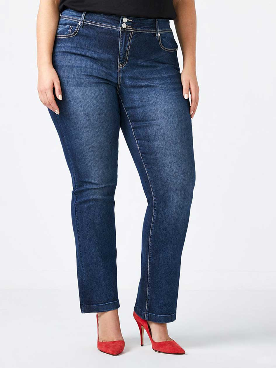 d/c JEANS - Straight Fit Bootcut Jean