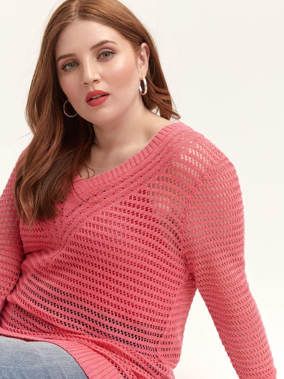 7725bc24c2d Stylish Plus Size Sweaters