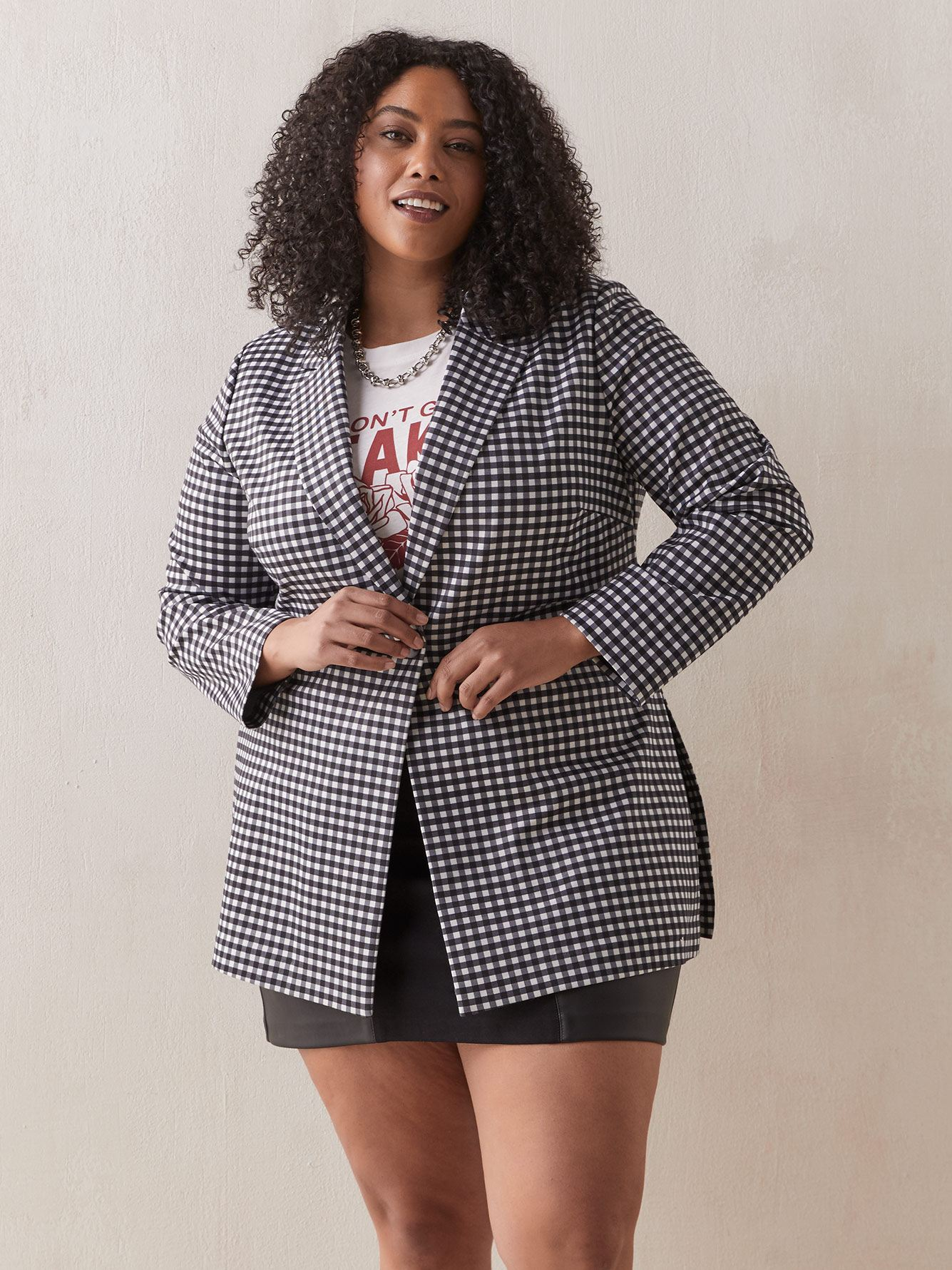 Long Overpiece Blazer - Addition Elle