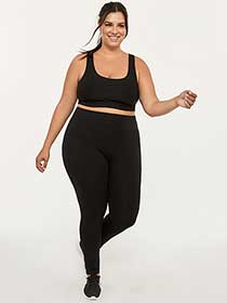 Plus-Size Basic Legging - ActiveZone