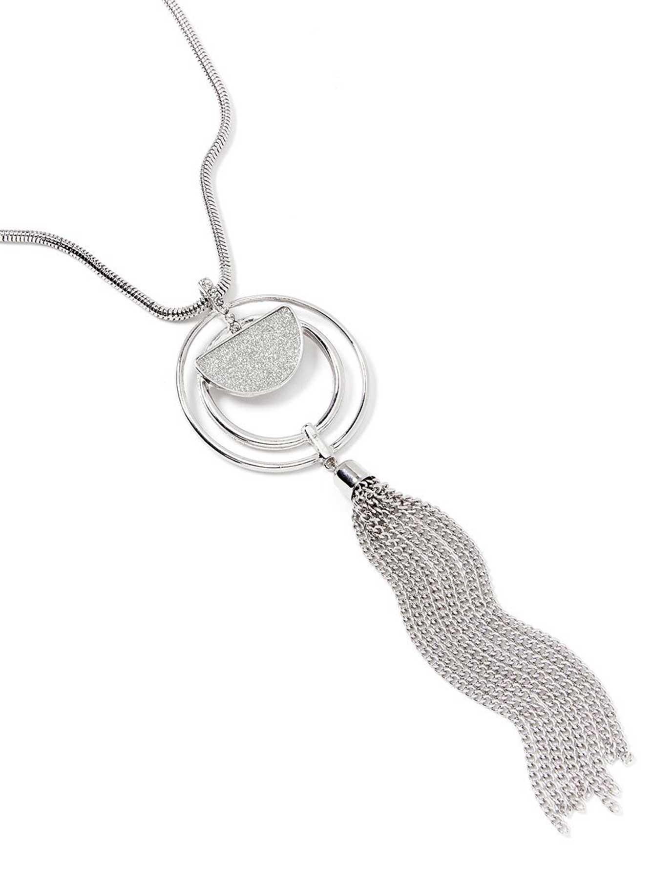 cf5e95c49ba Short Necklace with Pendant and Tassel | Penningtons
