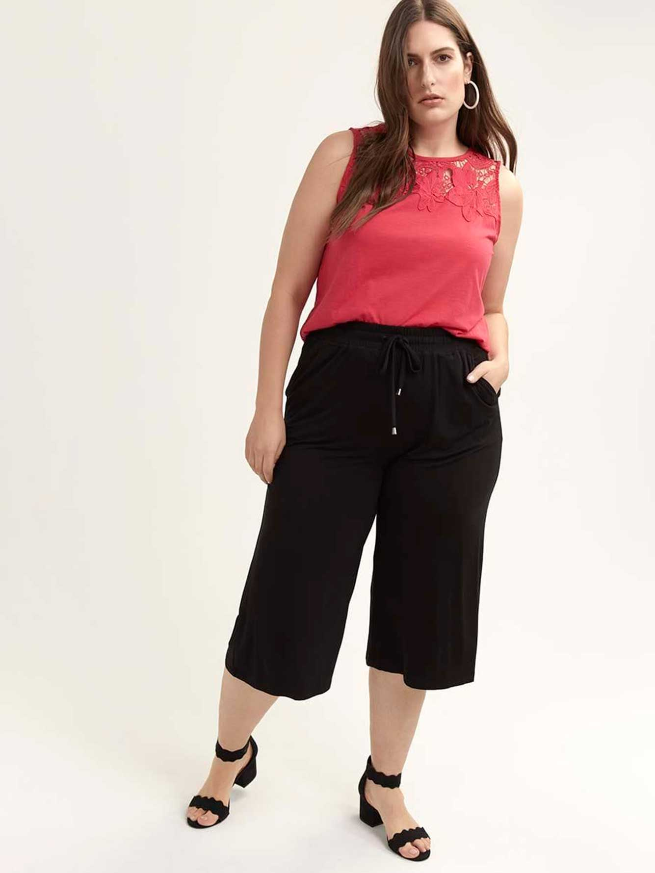 Wide Leg Gaucho Pant - In Every Story