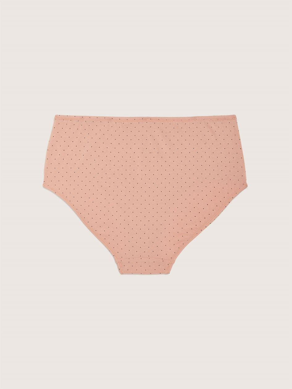Cotton Polka Dot Brief Panty - ti Voglio