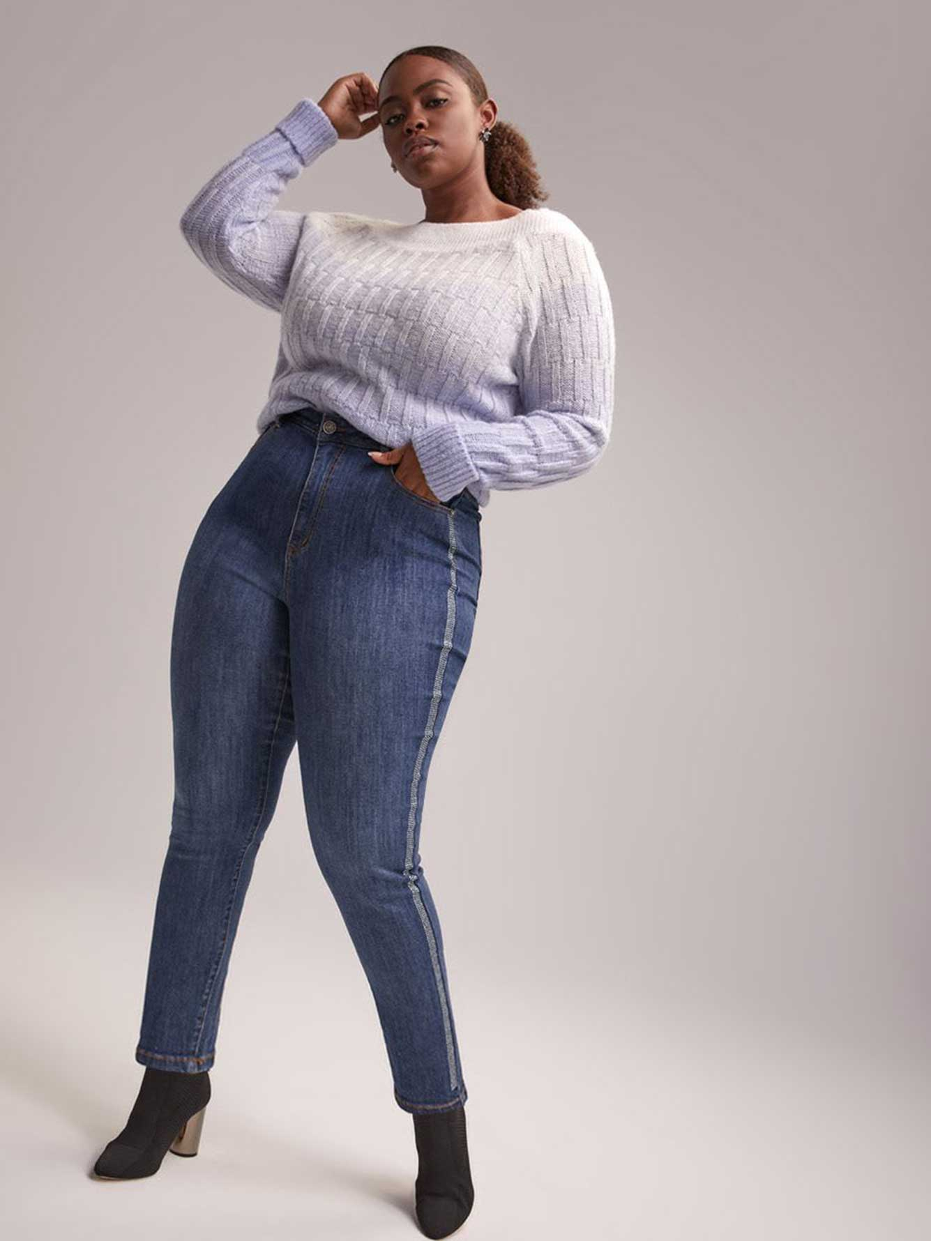 Petite Slightly Curvy High Rise Skinny Jean - d/C JEANS
