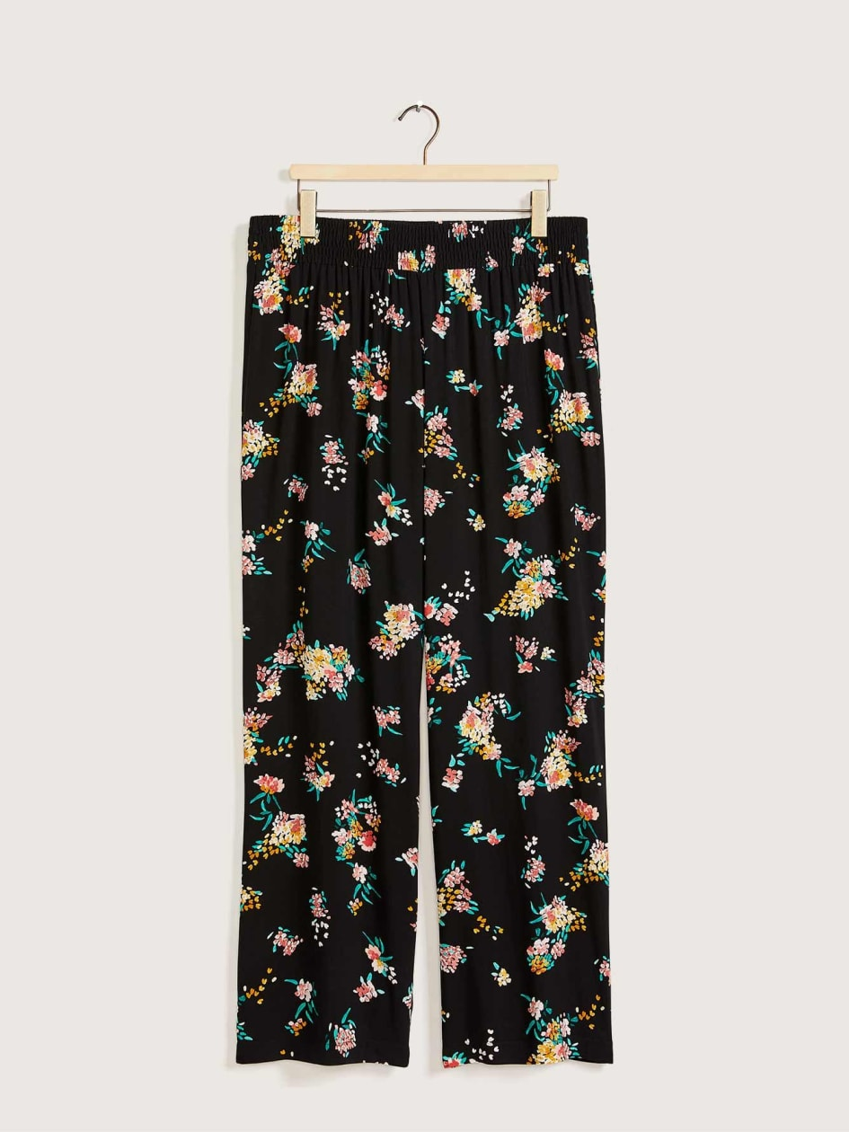 Printed High-Waisted Wide Leg Pant - In Every Story