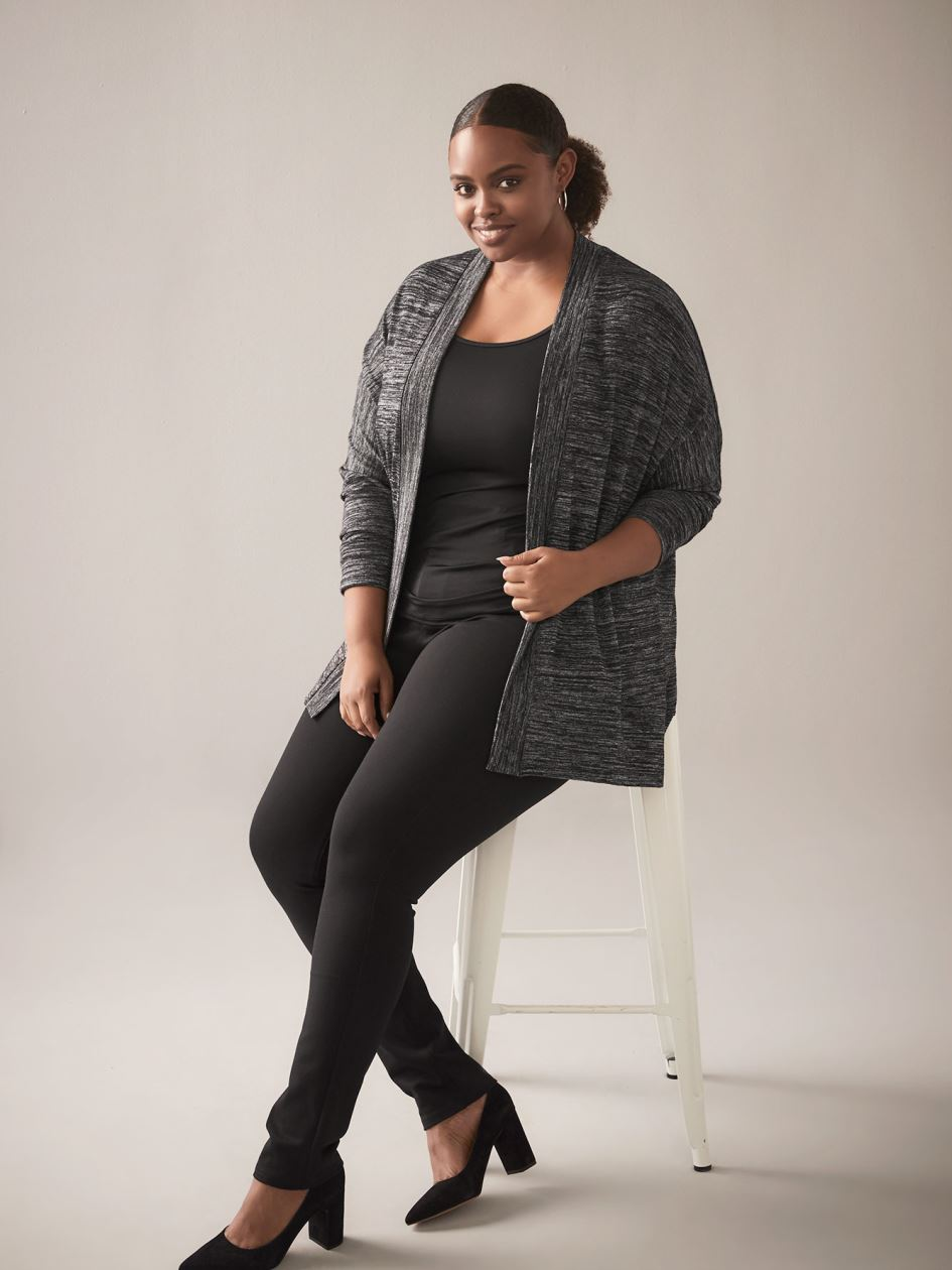 Open-Front Cocoon Cardigan - In Every Story