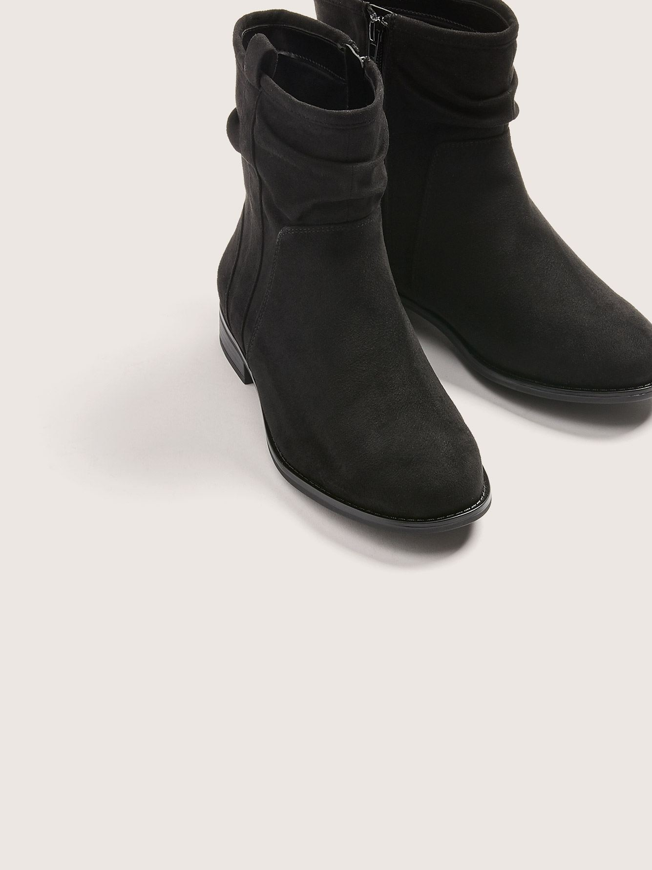 Microsuede Extra Wide Bootie - In Every Story