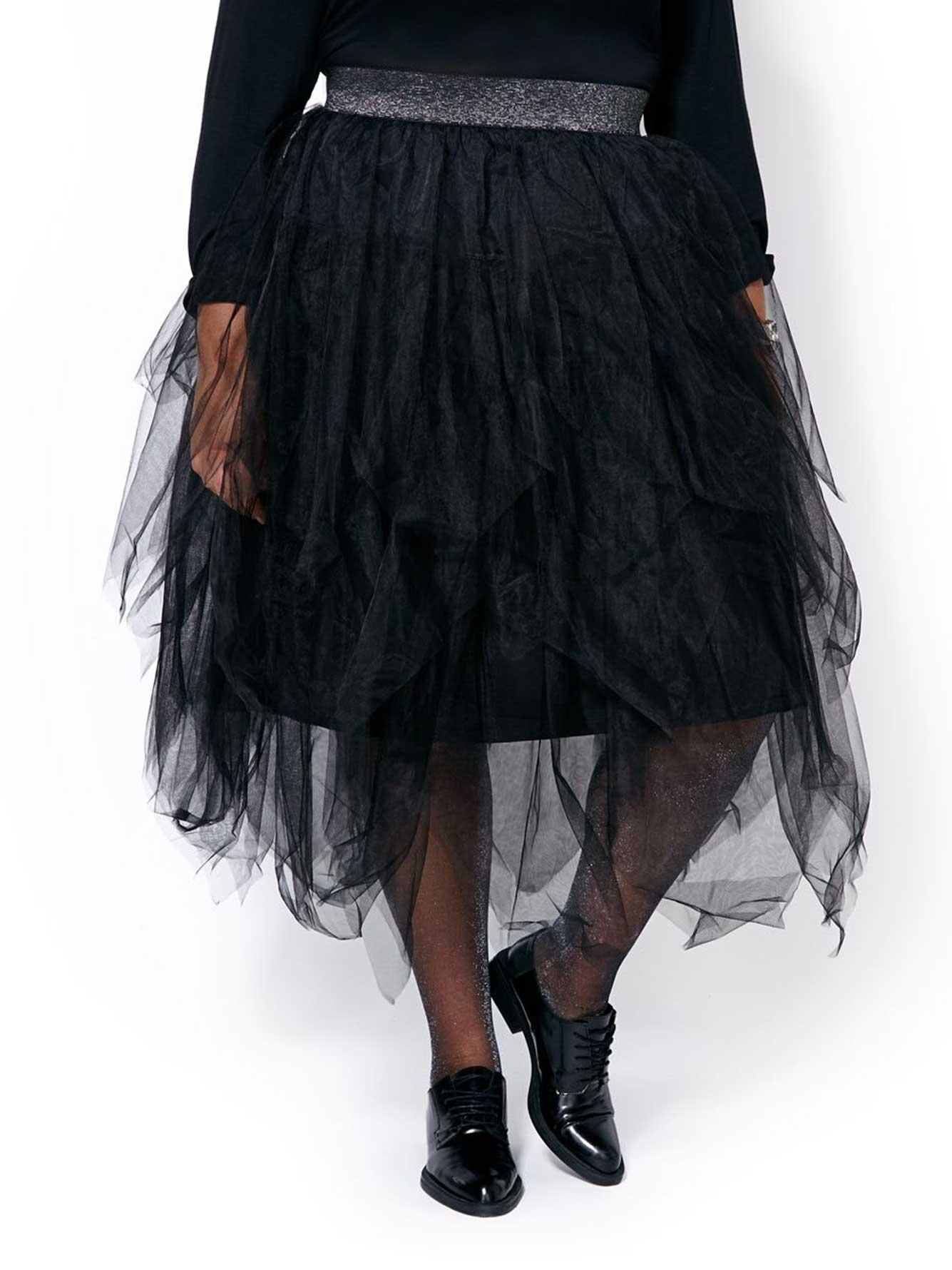 b2be9296424 MELISSA McCARTHY Layered Tulle Skirt