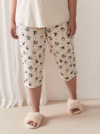 Printed PJ Capri Pant - Déesse Collection