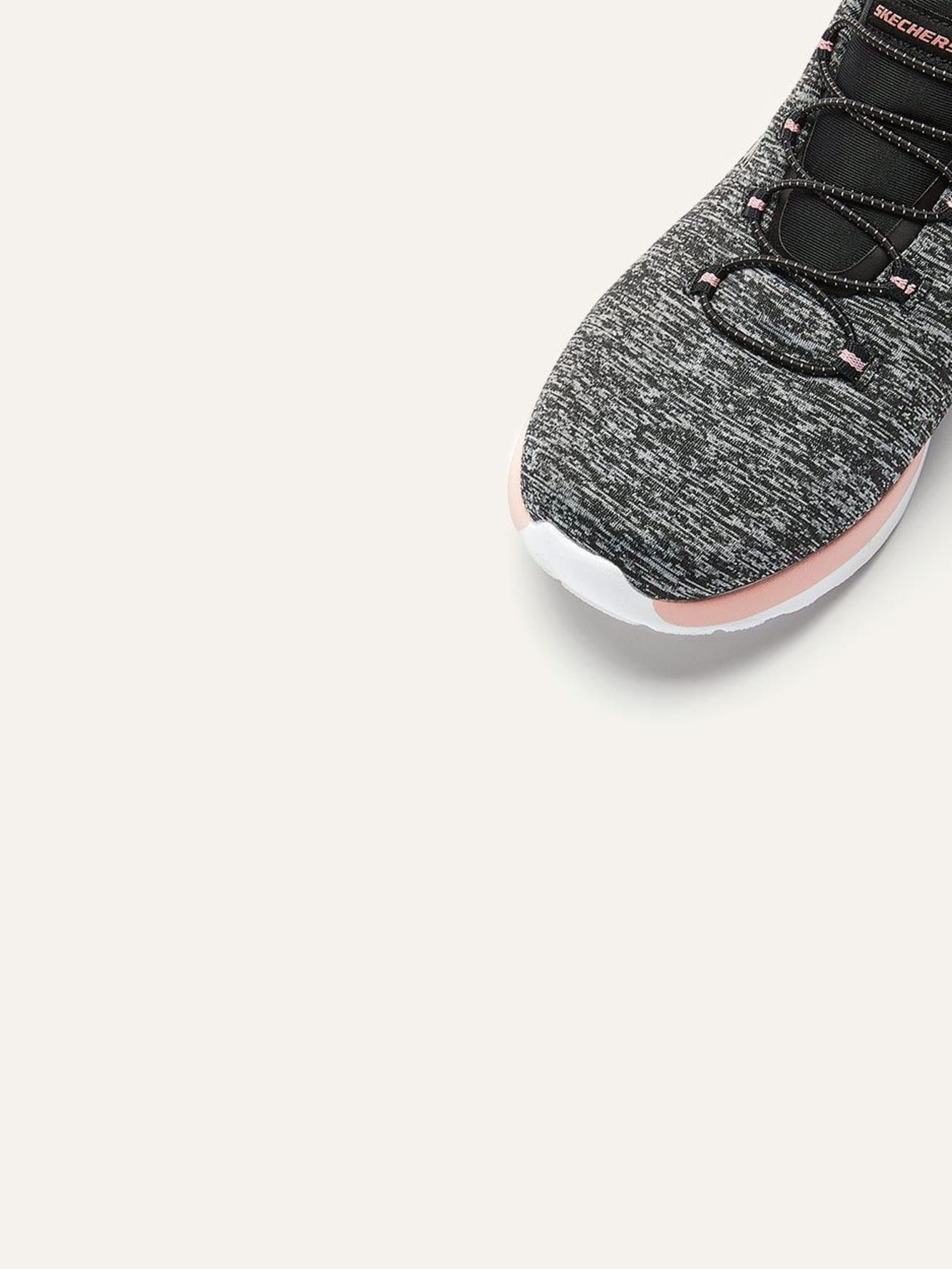 Skechers Dynamight, Break Through Chaussures de sport à enfiler pieds larges