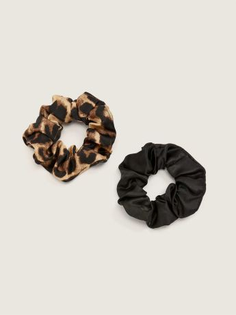 Animal-Print Scrunchies, Set of 2 - In Every Story
