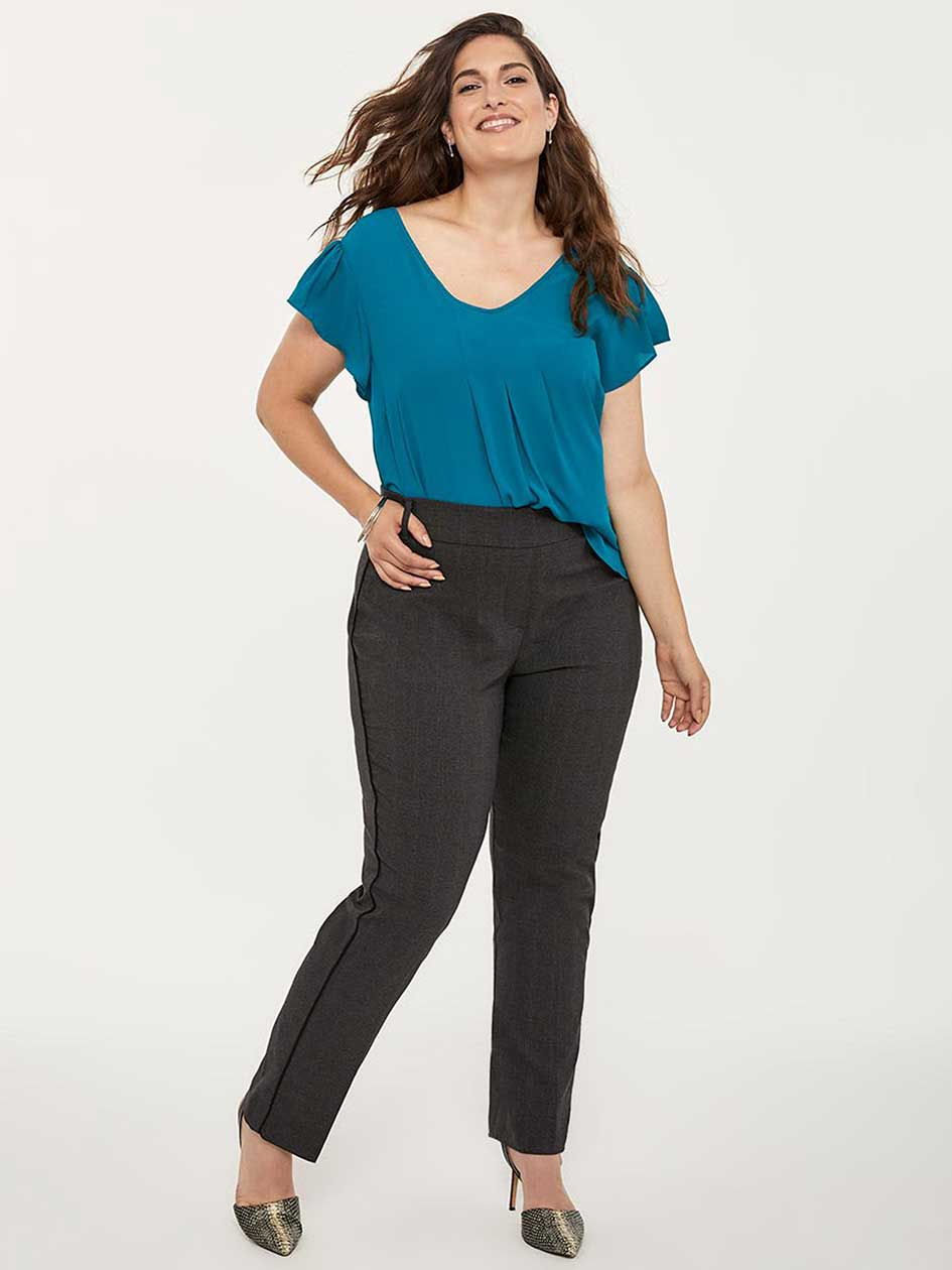 7a08628bfee ONLINE ONLY - Tall Savvy Soft Touch Straight Leg Pant - In Every Story