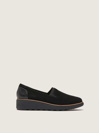 Sharon Dolly Wide Wedge Casual Shoe - Clarks