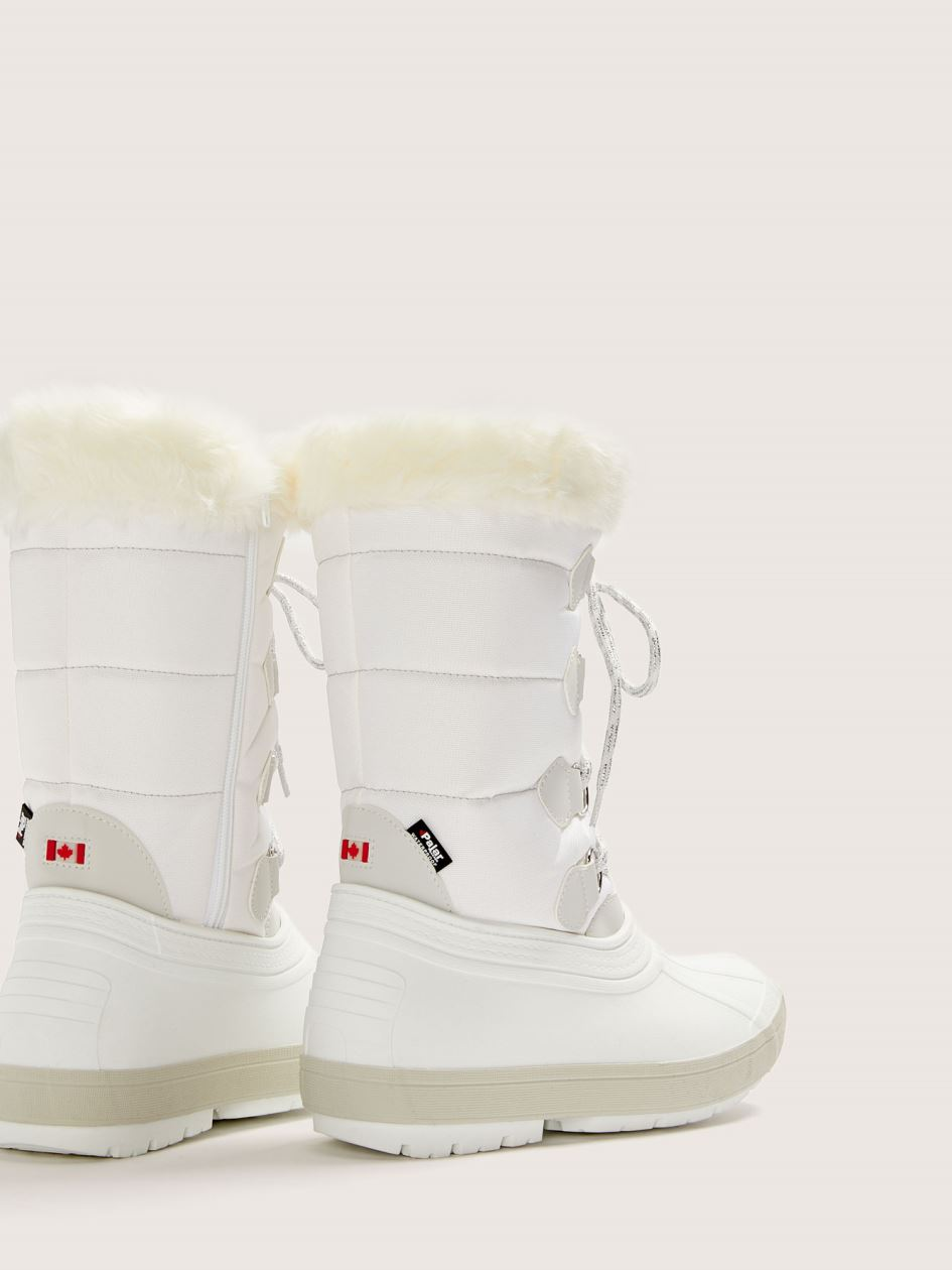 Wide Olga Winter Boot with Faux-Fur - Pajar
