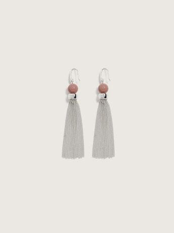 Beaded Tassel Earrings - Addition Elle