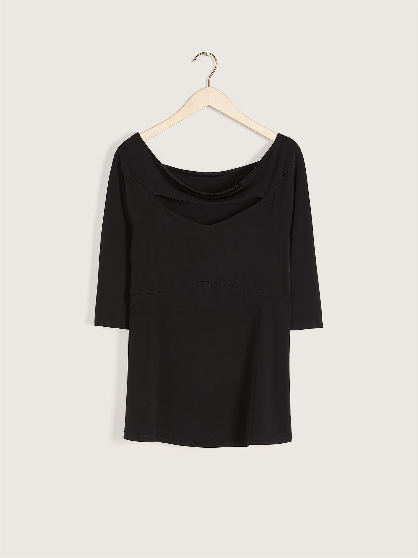 Going Out Cut-Out Long-Sleeve Top - Love & Legend