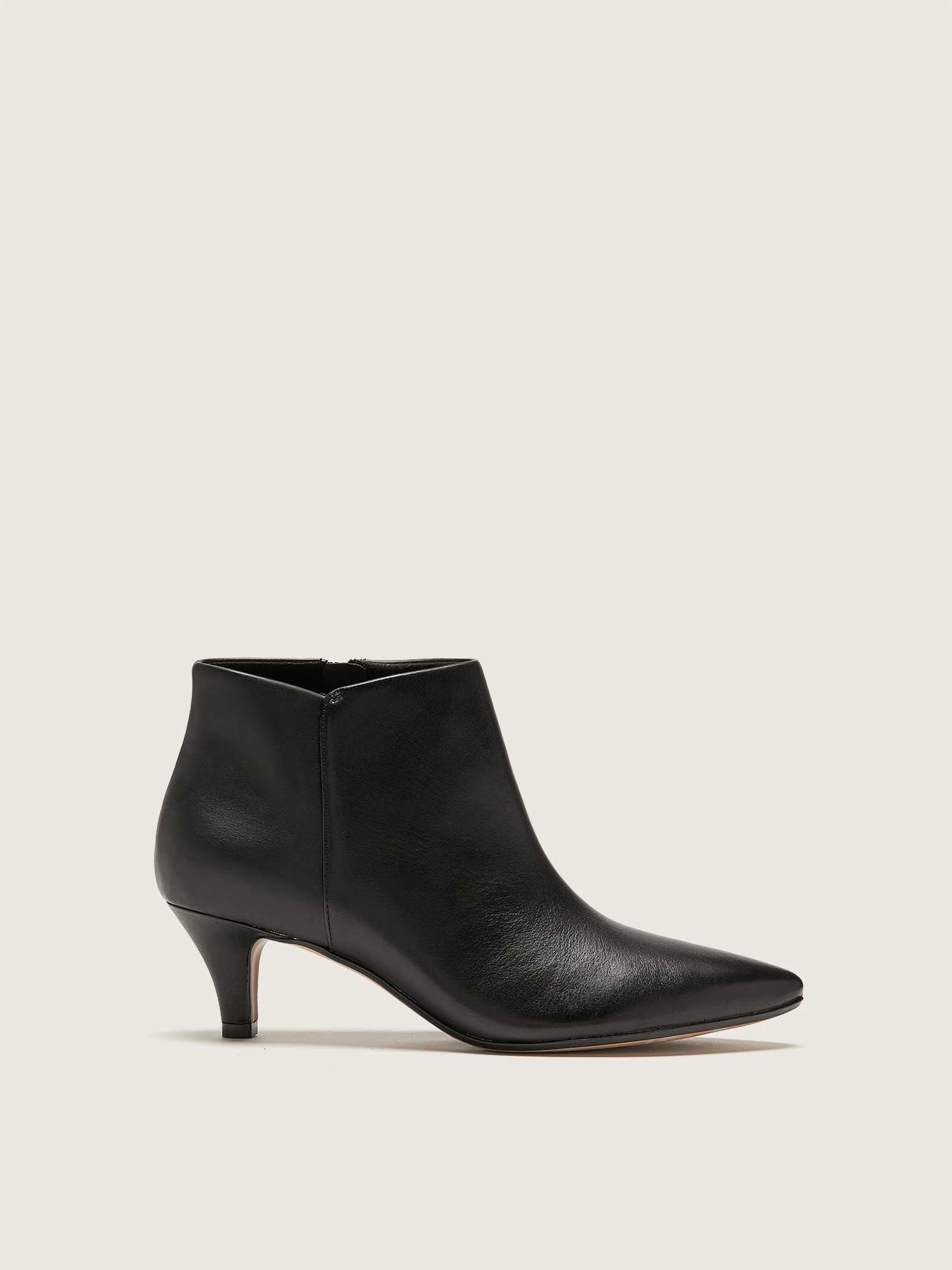 Wide Leather Linvale Sea Bootie - Clarks