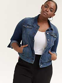 Basic Denim Jacket - d/C JEANS