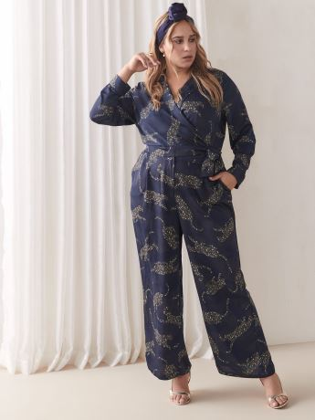 Maxi Belted Jumpsuit - Addition Elle