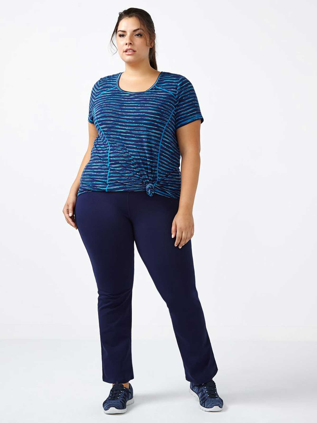 462681270f7 Essentials - Petite Plus-Size Basic Yoga Pant