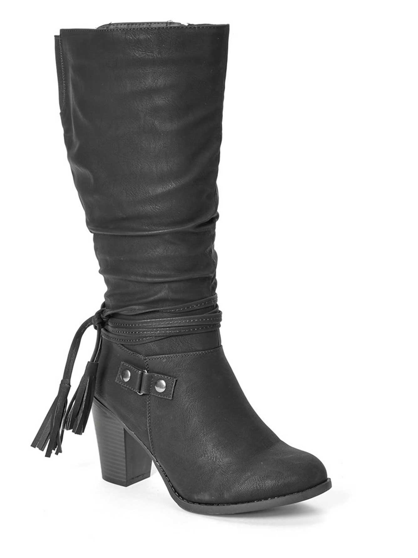 8adc8569eb4 Wide-Width Tall High Heel Boots