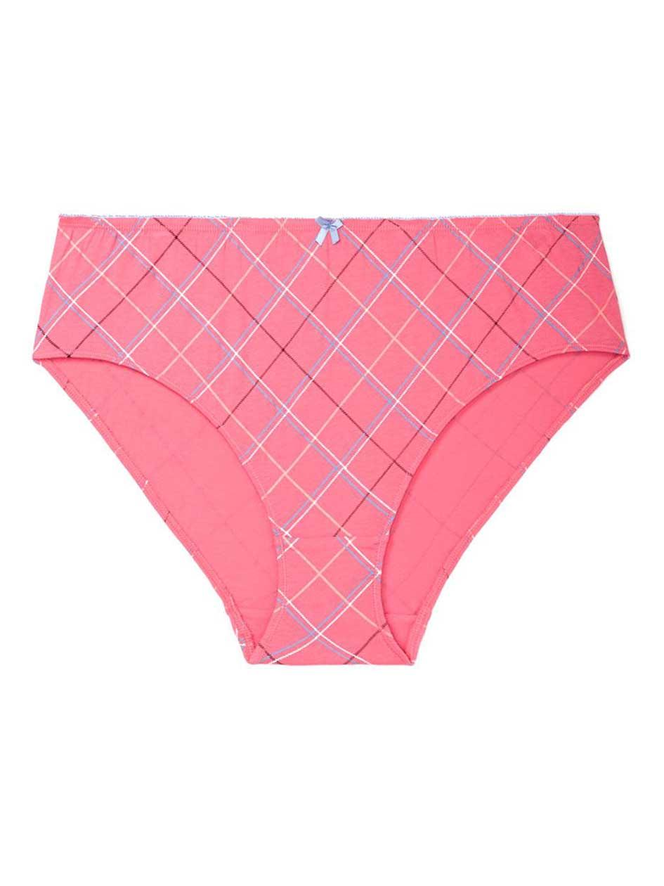 Ti Voglio Printed Cotton High Cut Brief Panty