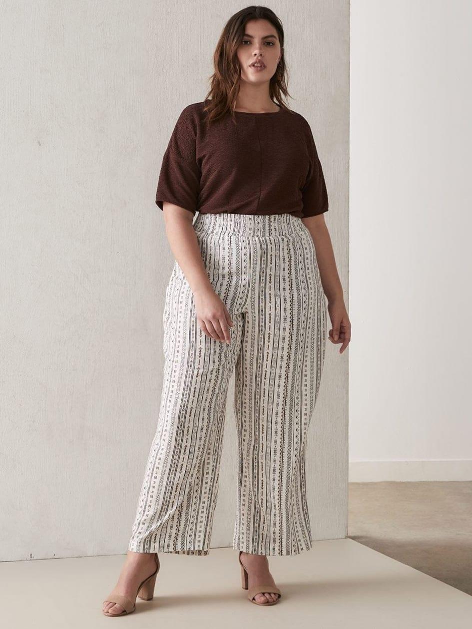 af445e2b08 Wide Leg Plus Size Pants | Plus Size Clothing| Penningtons