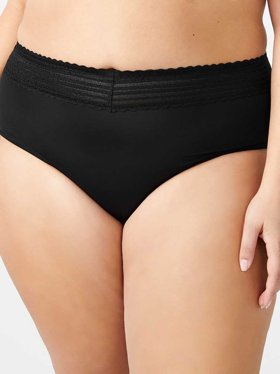 Brief Panty with Lace Trim - Ti Voglio