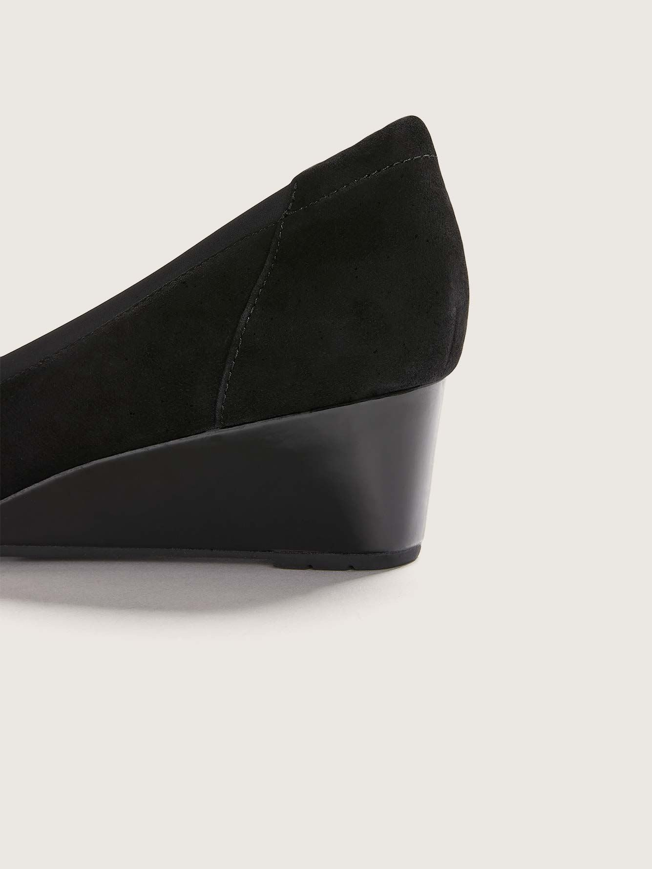 Clarks - Wide Mallory Berry Wedge Shoes