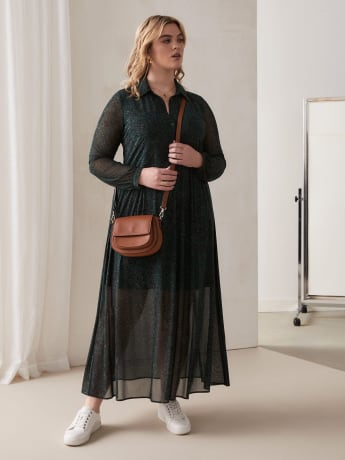 Maxi Shirt-Dress - Addition Elle