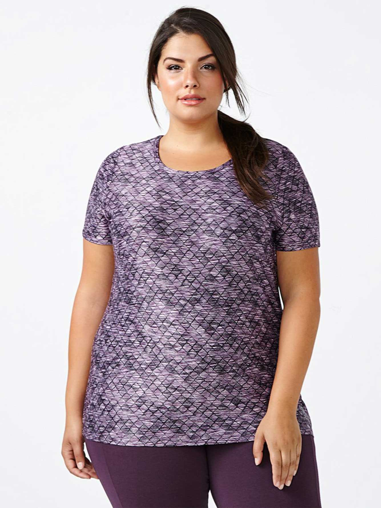 Essentials - Plus-Size Printed T-Shirt