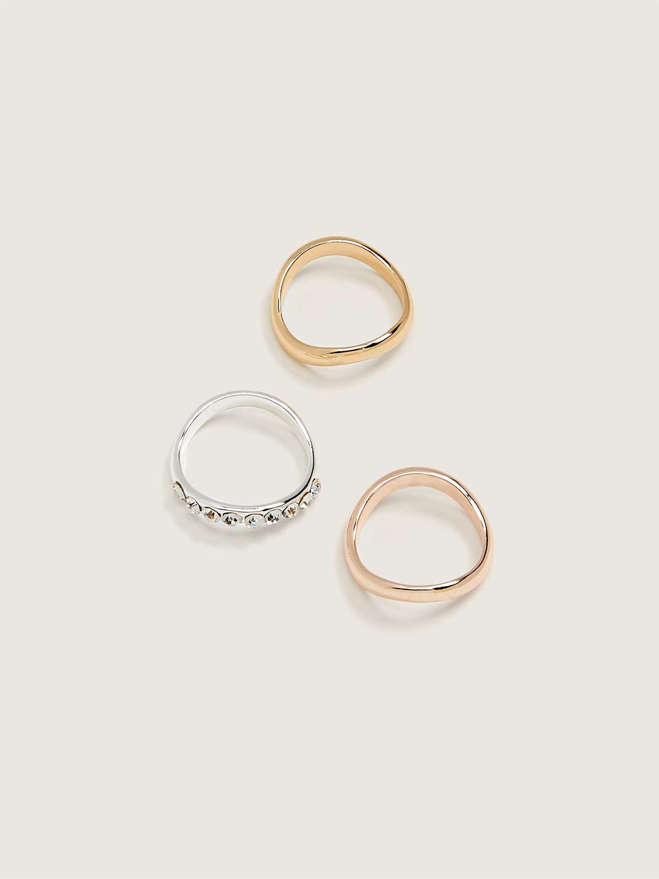 Organic Rings, 3-Pack - Addition Elle