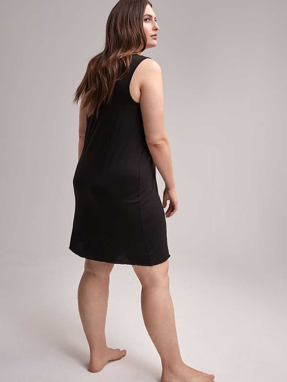 Black Nighty with Lace - ti Voglio