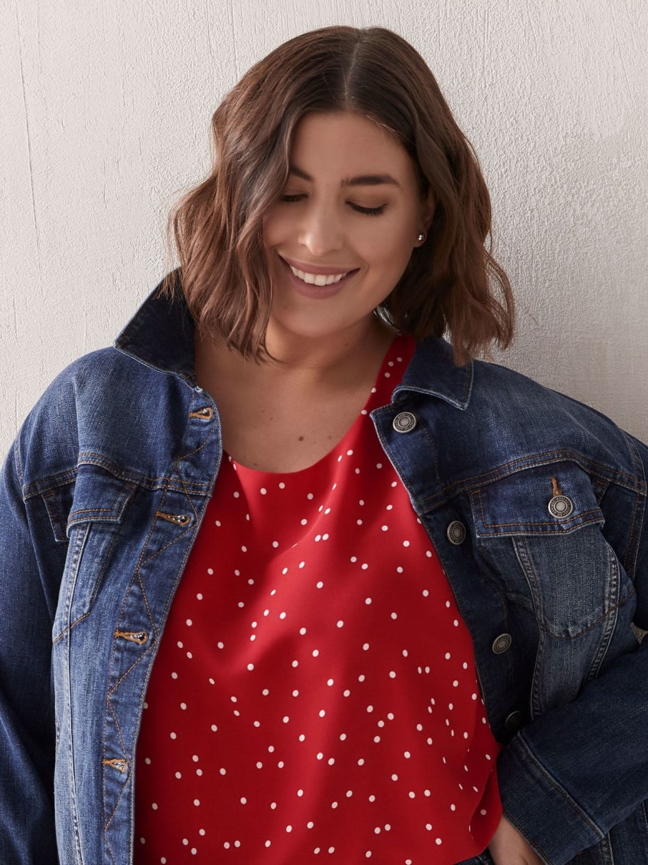 Blouse sans manches en tissu responsable - In Every Story