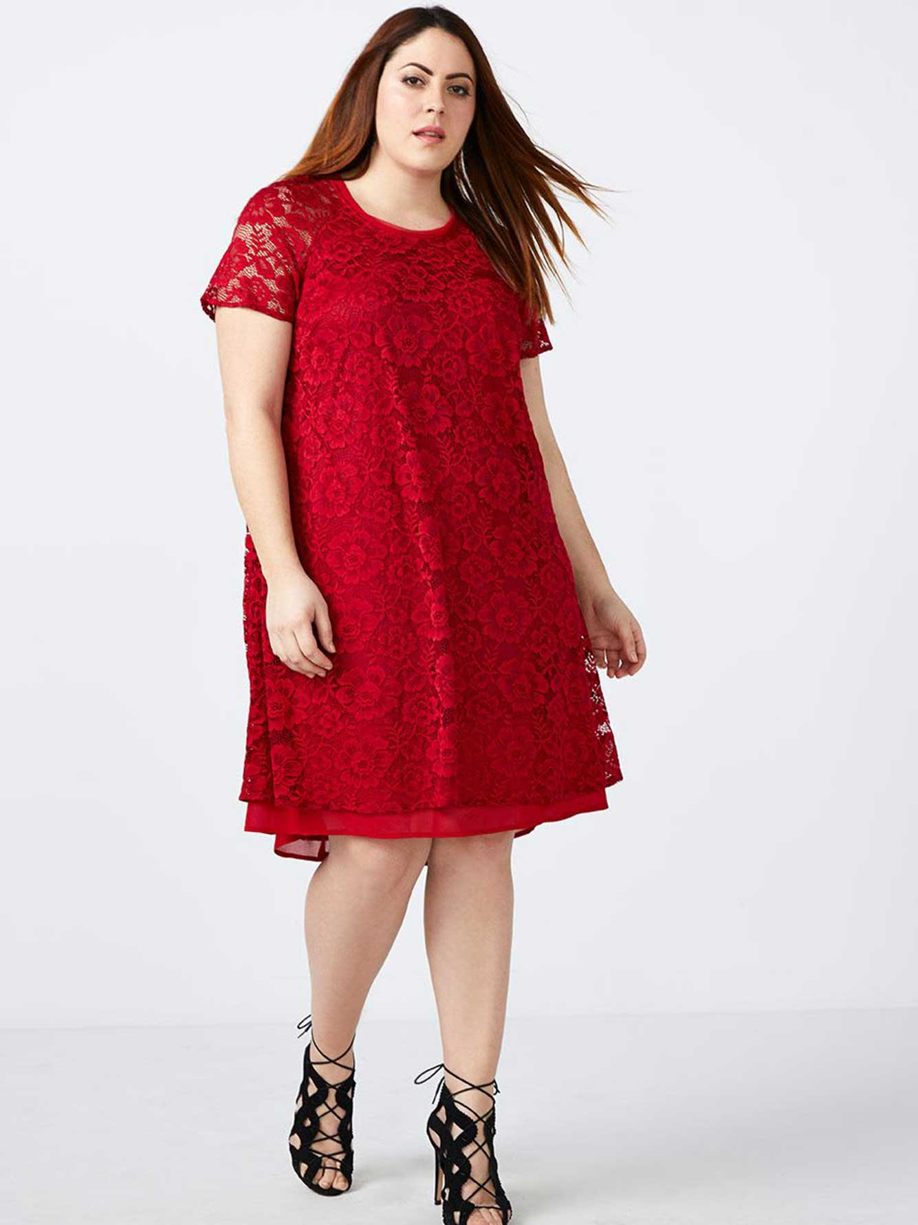 03d3648c05572 Lace Swing Dress - In Every Story | Penningtons