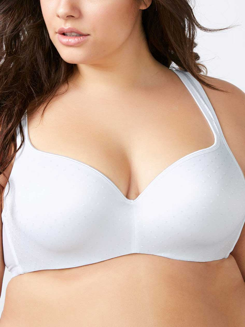 1252948ae17 Padded T-Shirt Bra - ti Voglio.Bright White.44DDD