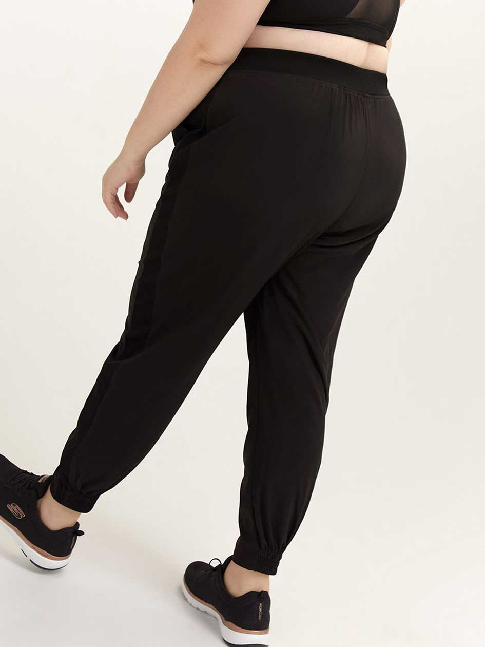 Jogger Pant with Side Ribbing - ActiveZone