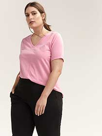 Plus Size Short Sleeve T-Shirt - ActiveZone