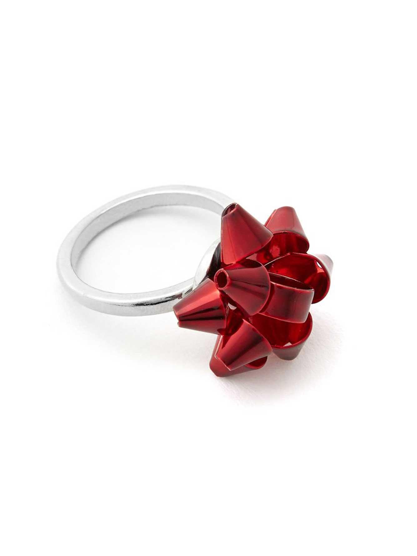 Ring Bow Il Gioiello Personalizzabile Con La Tua Nailart: Holiday Bow Ring