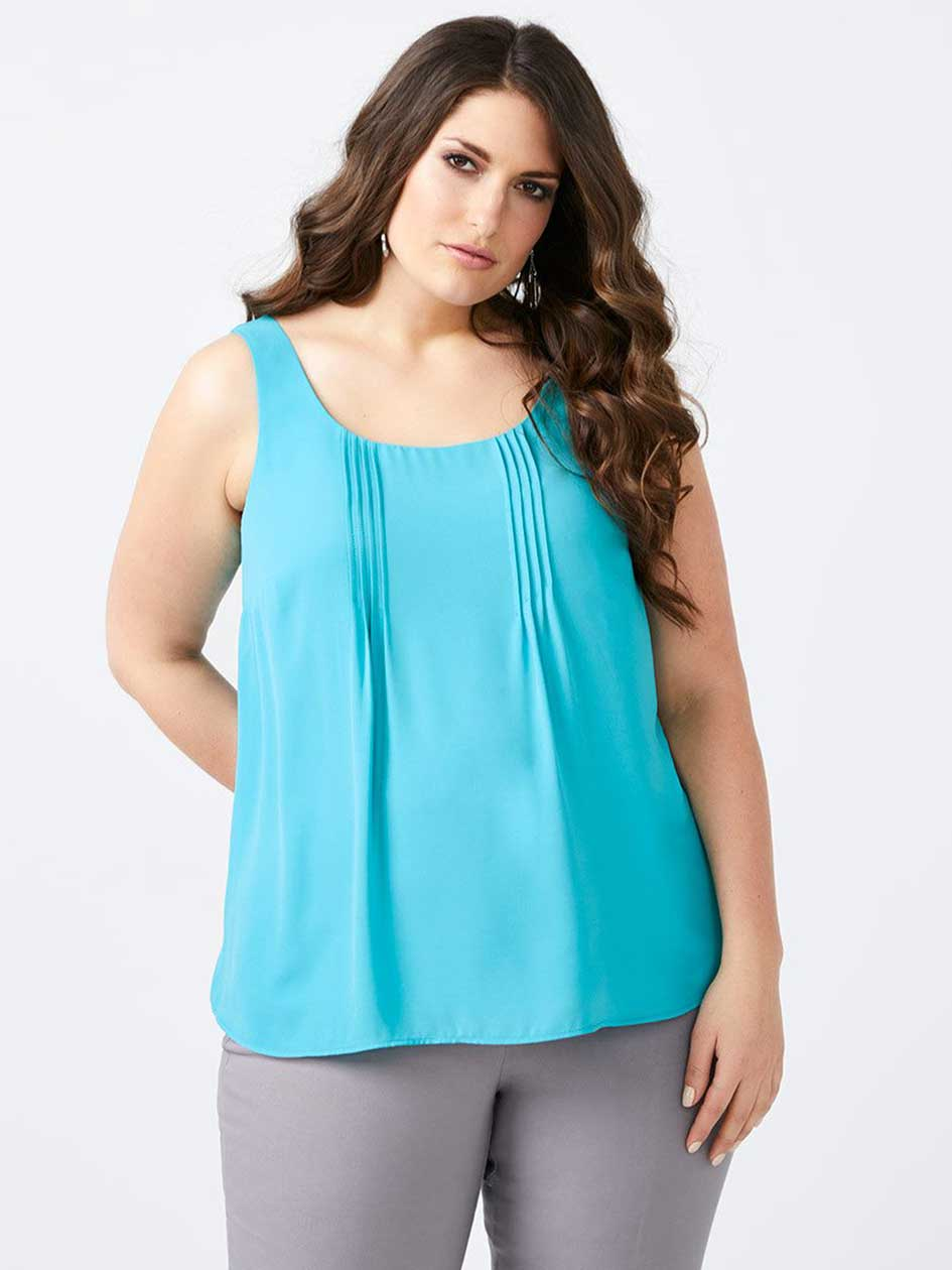Blouse plus size womens cothing plussize shopping canada p for Tucked in shirt plus size