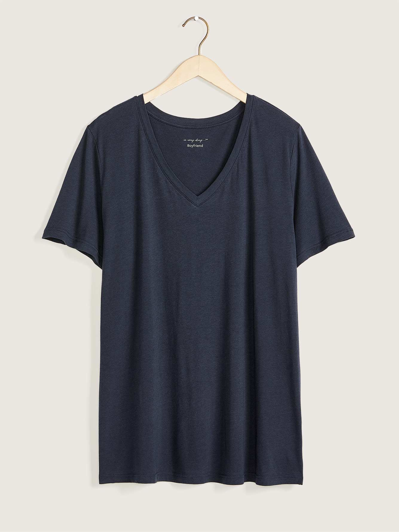 Relaxed Fit V-Neck T-Shirt - In Every Story