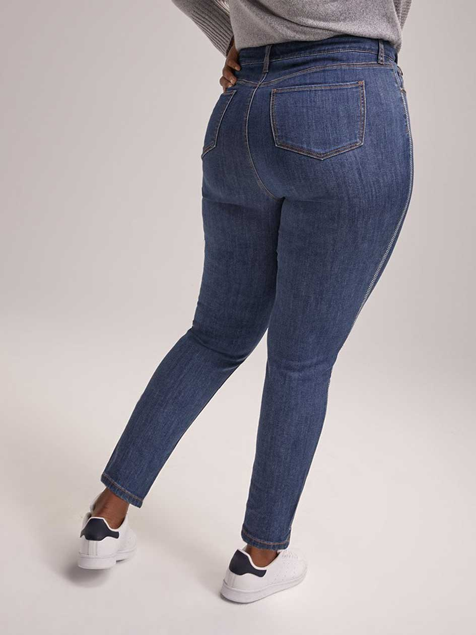 ONLINE ONLY - Tall Slightly Curvy High Rise Skinny Jean - d/C JEANS