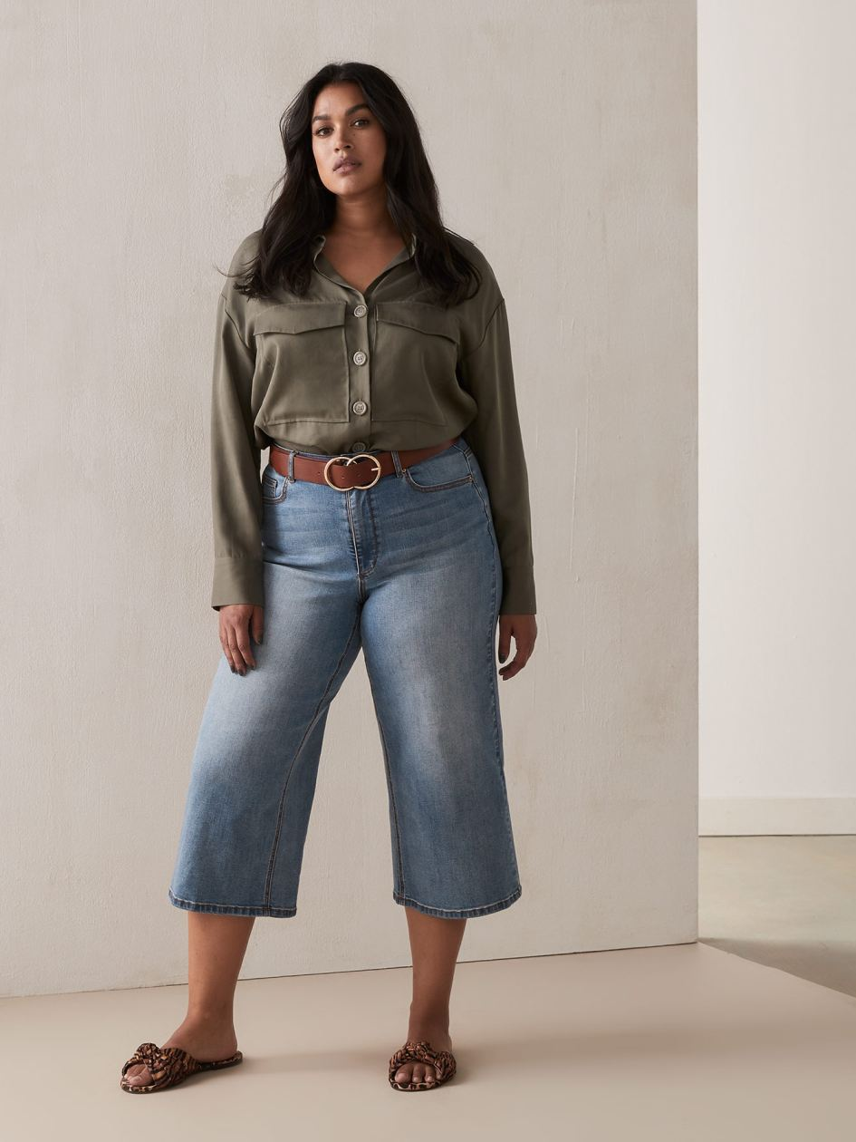 640e9b86bae5a New Plus Size Jeans & Pants | New Arrivals | Penningtons